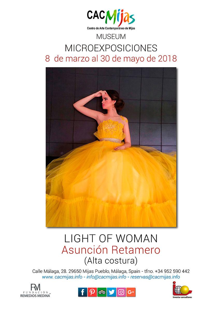 ASUNCIÓN RETAMERO. LIGHT OF WOMAN