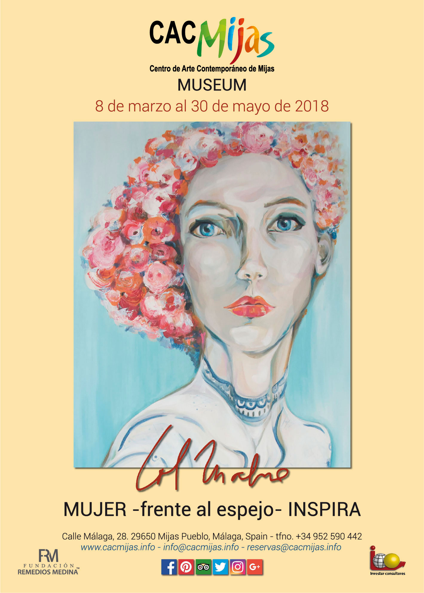 LORENA MALONE. MUJER FRENTE AL ESPEJO INSPIRA