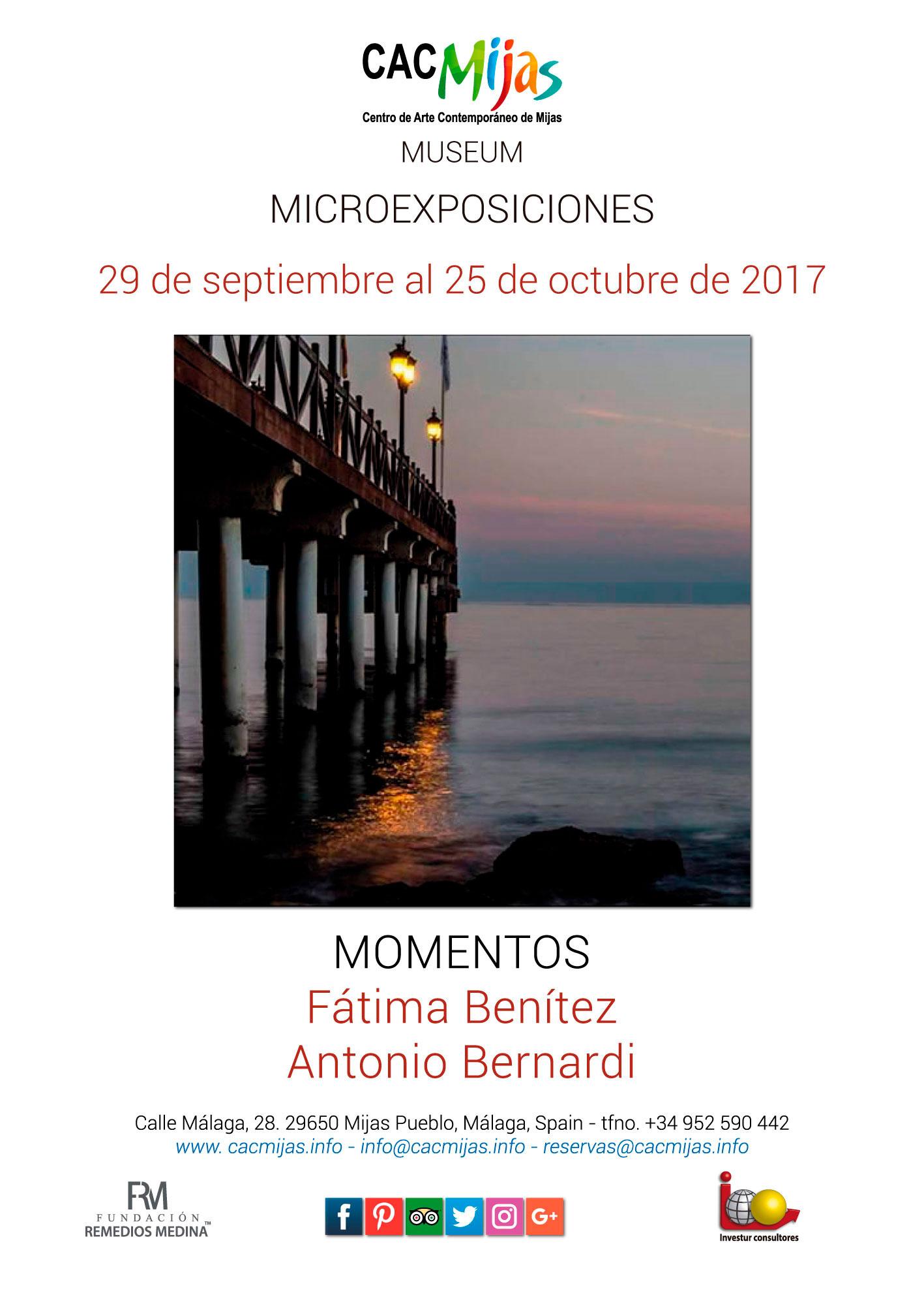 FÁTIMA BENÍTEZ Y ANTONIO BERNARDI. MOMENTOS
