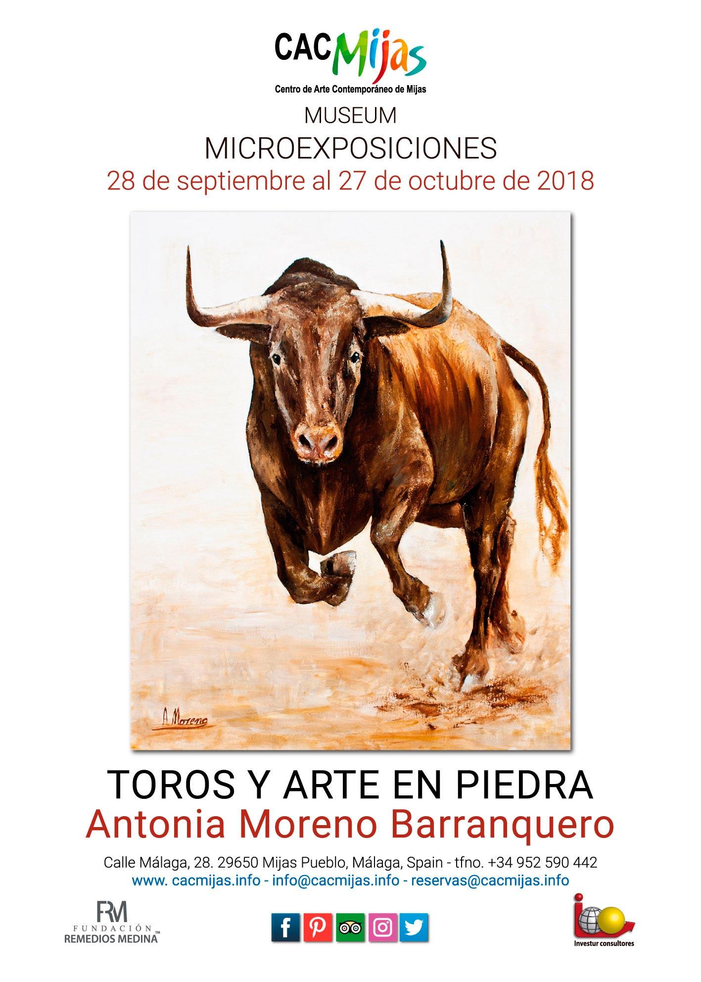 ANTONIA MORENO. TOROS Y ARTE EN PIEDRA