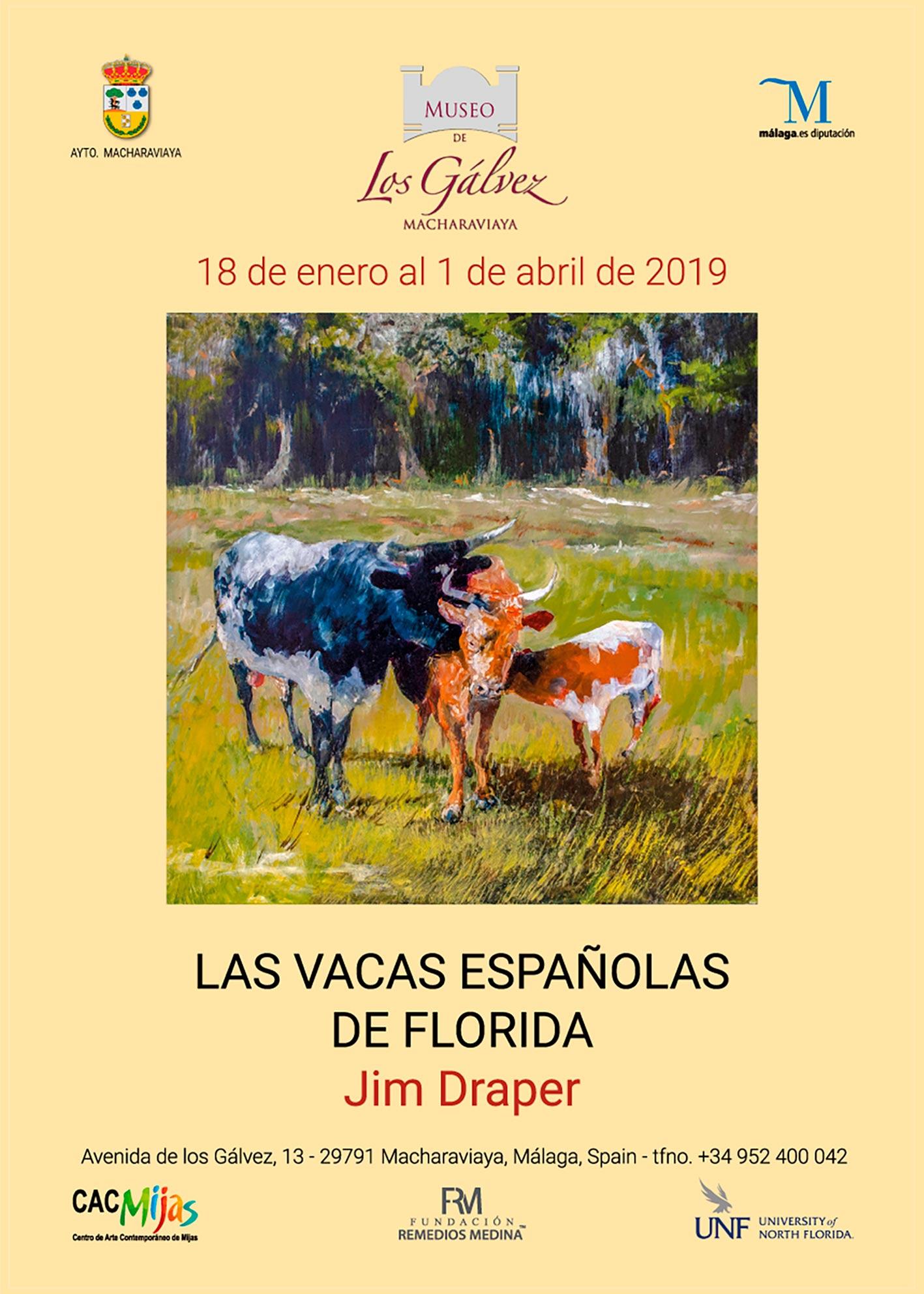 JIM DRAPER. LAS VACAS ESPAÑOLAS DE FLORIDA