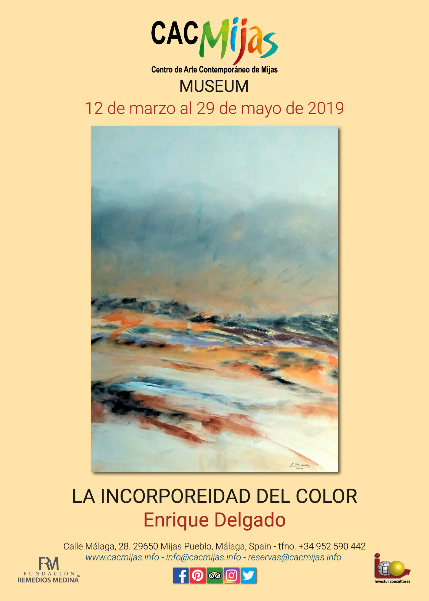 ENRIQUE DELGADO. LA INCORPOREIDAD DEL COLOR
